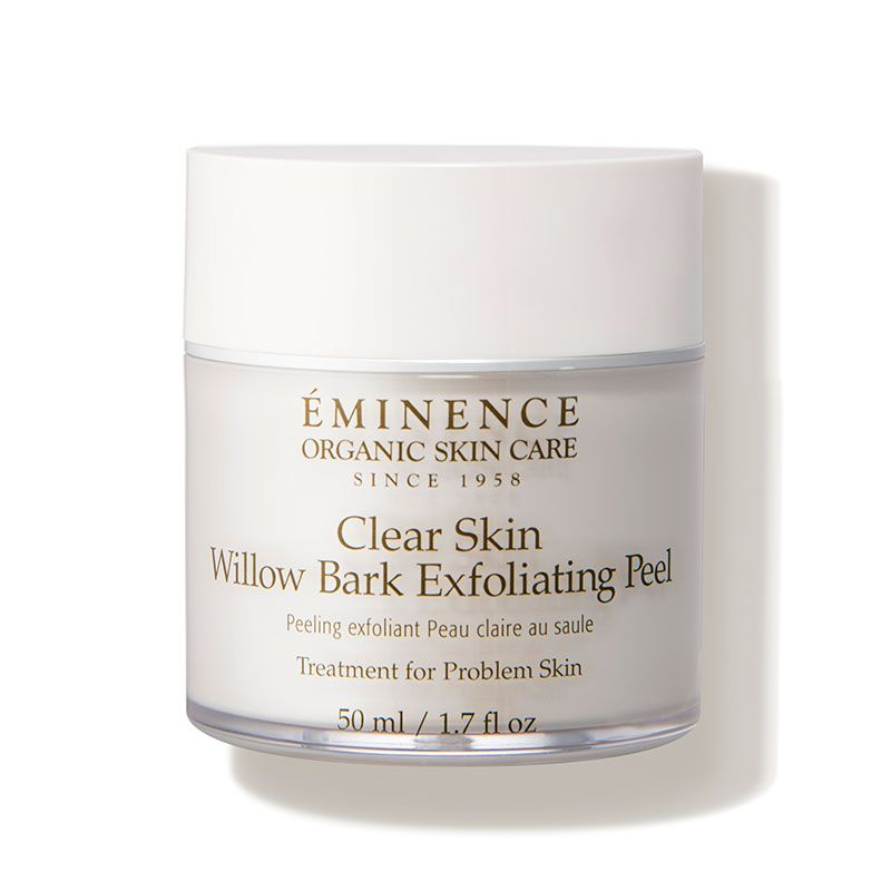 Eminence Organic Skin Care Clear Skin Willow Bark Exfoliating Peel Dermstore Organic Skin Care Exfoliating Peel Eminence Organic Skin Care
