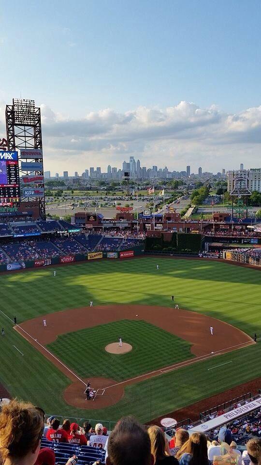 Citizens Bank Park Baseball Park Baseball Stadiums Parks Mlb Stadiums