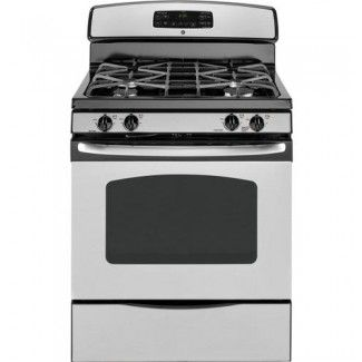 Ge Jgb281serss 220 240 Volt Stainless Steel Gas Range Gas Range Cooking Range Freestanding Electric Ranges