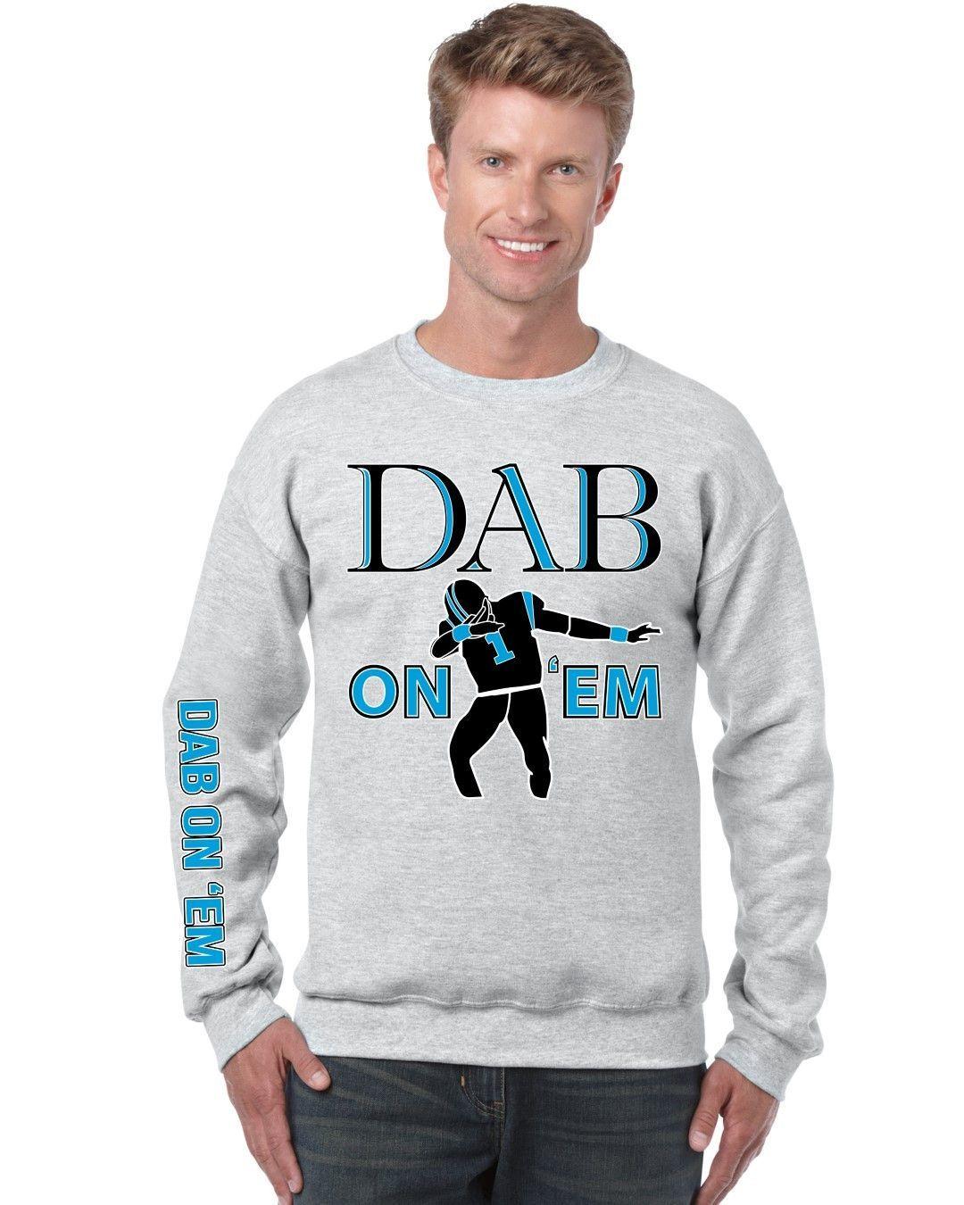 Dab on em Cam Newton Big Will Men sweatshirt