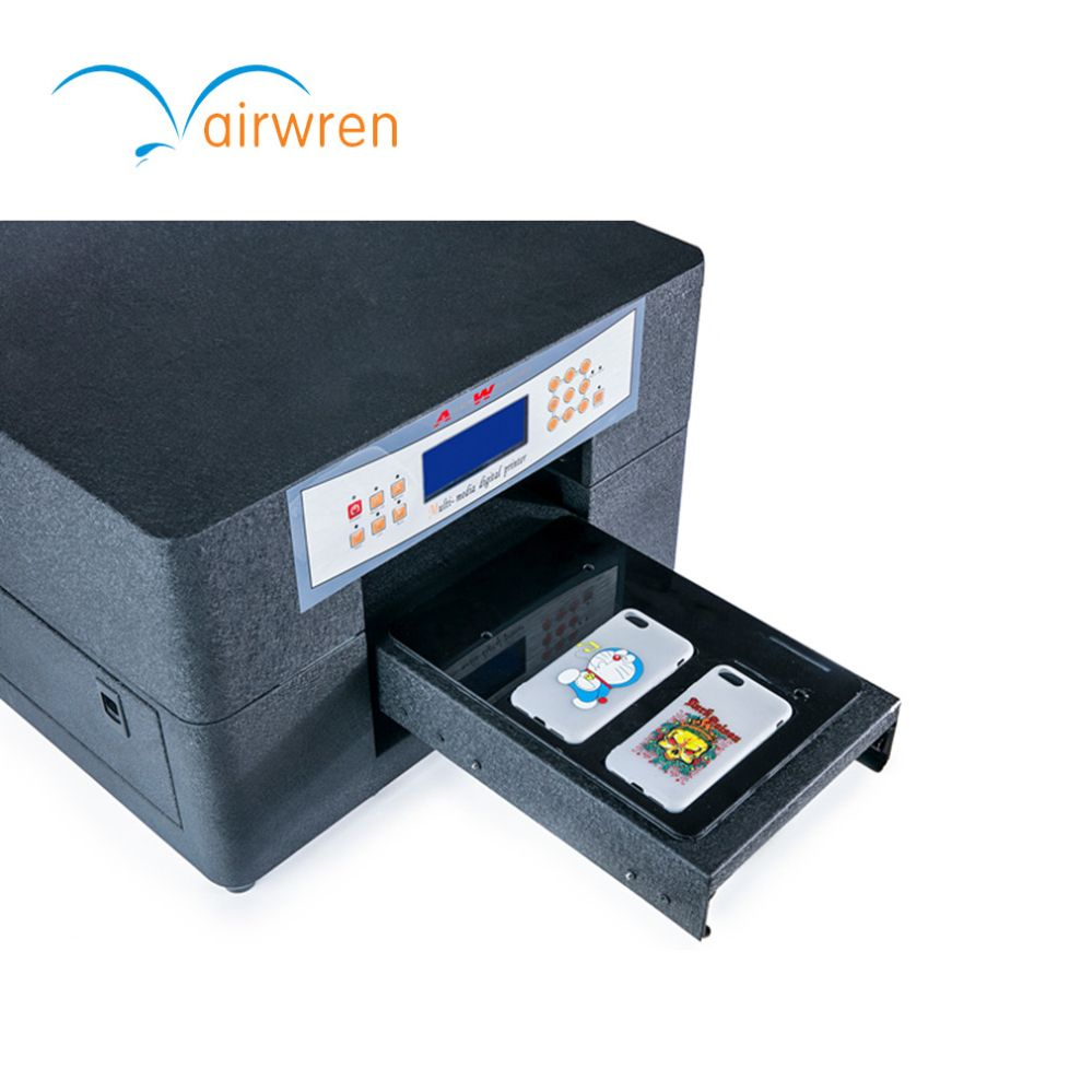 a4 size digital flatbed uv printer digital plastic card printer uv printing machine - Plastic Card Printing Machine
