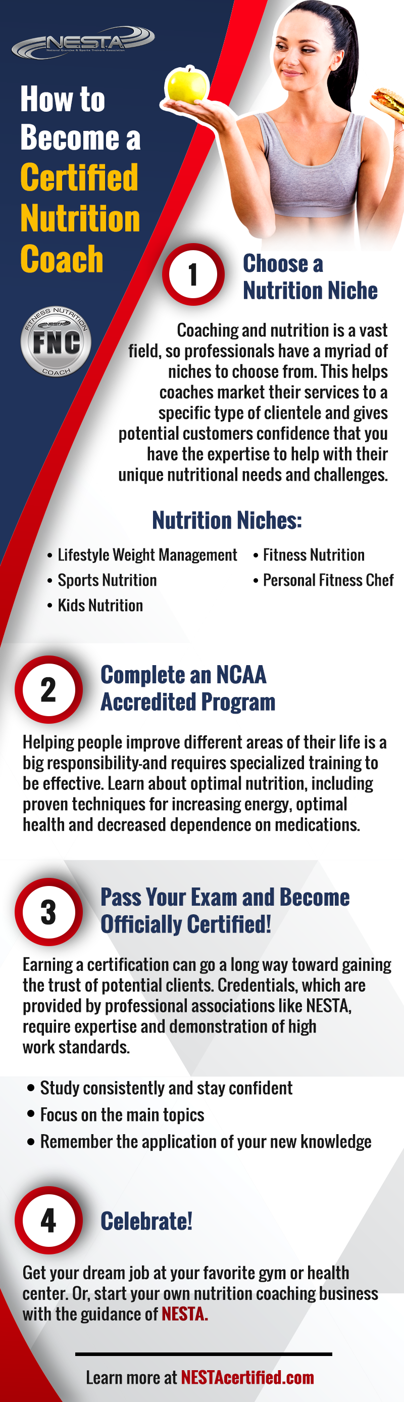 How To Become A Certified Nutrition Coach Nutrition Coach Nutrition Careers Nutrition Education