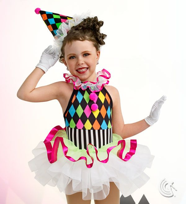 Curtain Call Costumes®   Jolly Bean Makes For A Great Kids Tapping Clown Dance  Costume