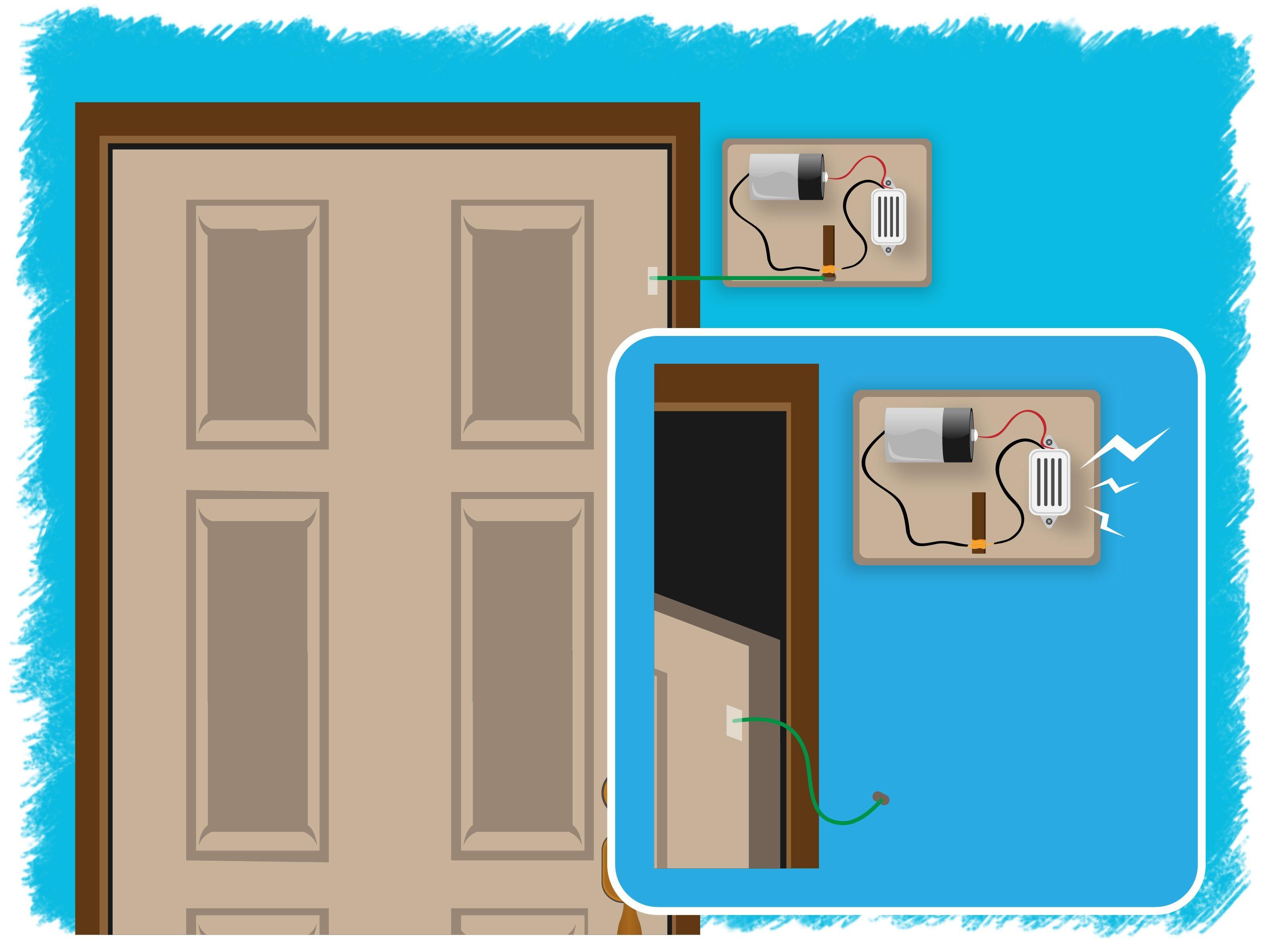 How To Make A Door Alarm Door Alarms Make A Door Diy Home Security
