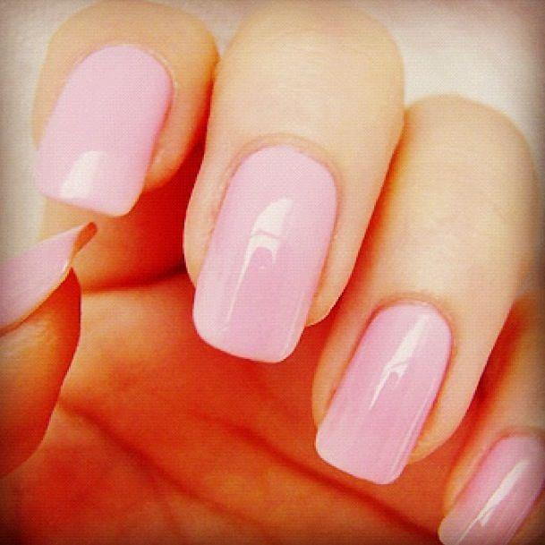 Neutral Color Nails (: