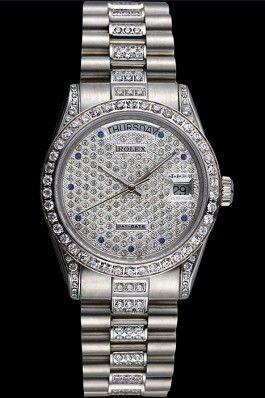 Swiss Rolex Day Date Diamond Rolex Presidential Replica Watch