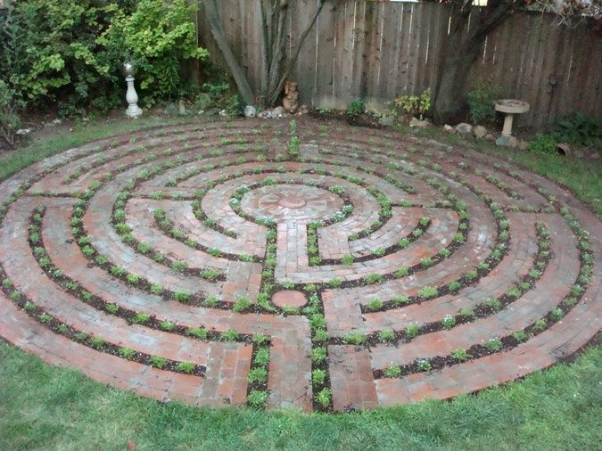 Charmant Labyrinth Garden Designs | Santa Rosa Labyrinth Design
