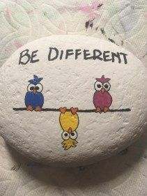 80 DIY Ideas of Painted Rocks with Inspirational Picture and Words #bastelnmitsteinen