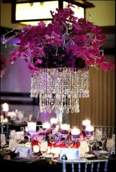 20 Silver Wedding Chandeliers Centerpieces Decorations Crystal
