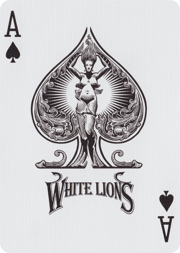 Ace Of Pentacles Images On Pinterest: White Lions, Series B