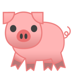 Pig Emoji Pig Emoji Emoji Domestic Pig