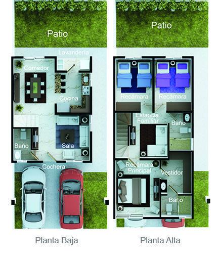 planos de casas 8*16