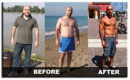 warrior diet before and after
