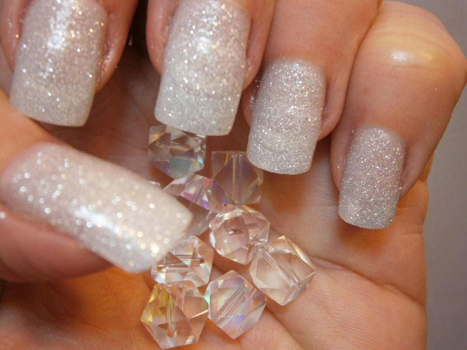 Diamond Dust Nail Lacquer Glistening by WonderBeautyProducts, $10.00 ...