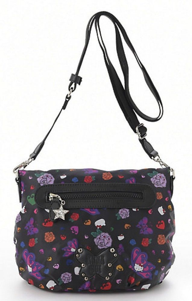 7f05c59f9 Hello Kitty x ANNA SUI 3WAY Shoulder Hand Bag Backpack Tote Purse Japan  T5136 #HelloKittyxANNASUI #3WAYBag