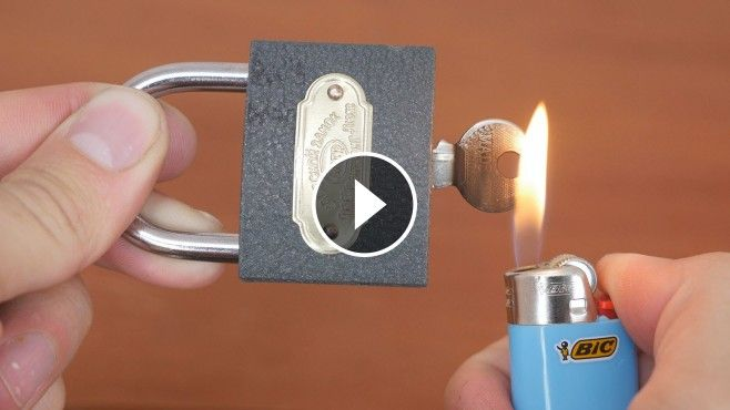 3 Brilliant And Super Easy Ways To Open A Lock Opening A Lock Without Its Key Has Never Been That Easy The Brilliantl Amazing Life Hacks Hacks Simple Tricks
