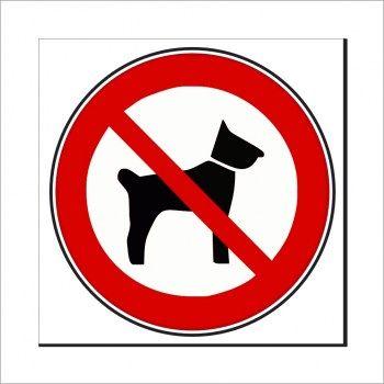 Hundeverbotsschilder Hunde Verboten Schilder Hunde Aufkleber