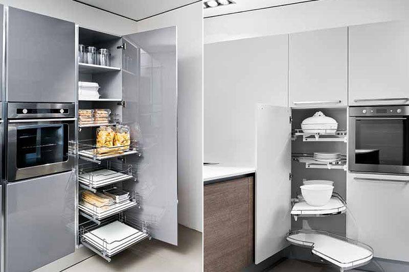Amoblamientos de cocina con accesorios buscar con google - Amoblamientos de cocina modernos ...