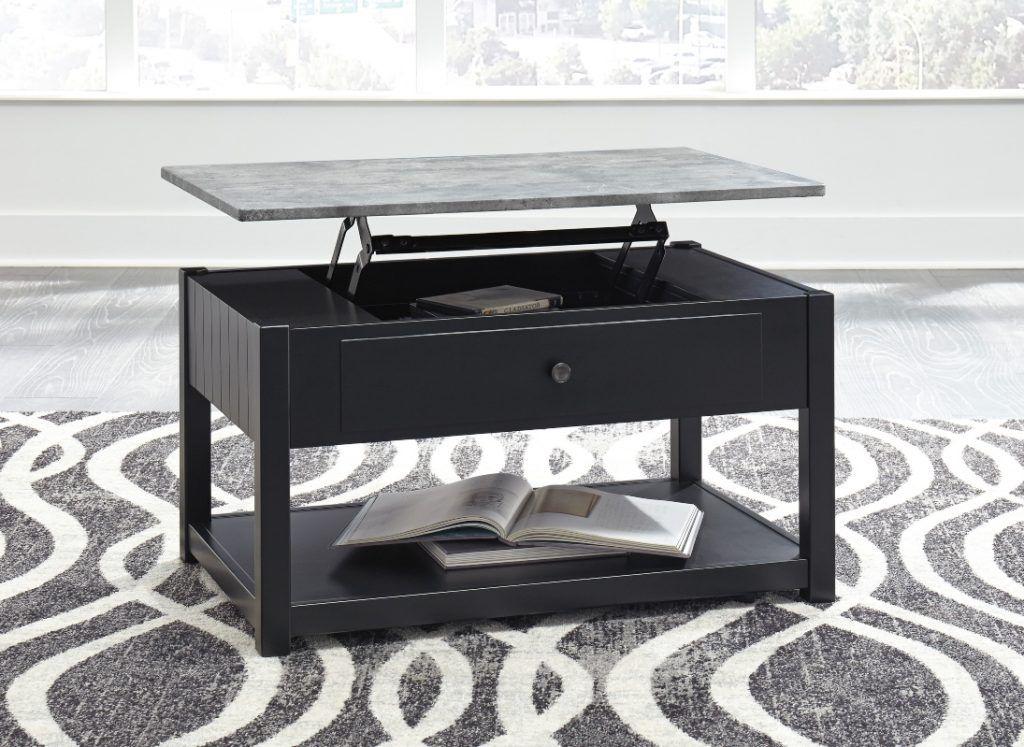 ASHLEY EZMONEI Lift Top Coffee Table Coffee table, At
