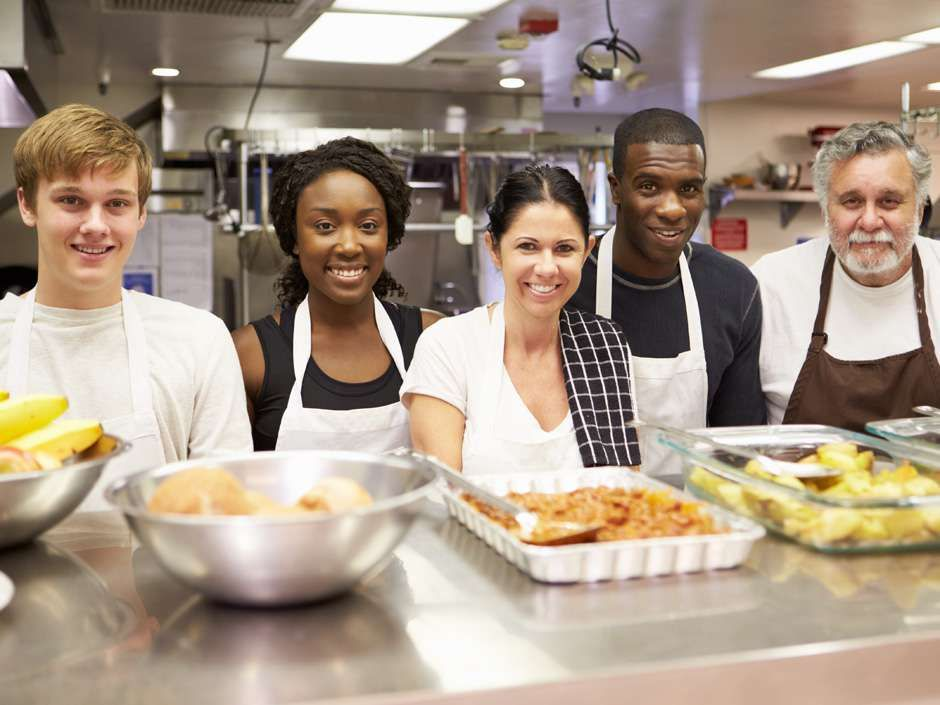 Four Reasons Why Volunteering Will Help Your Career At Any Stage Soup Kitchen Volunteer Thanksgiving Volunteer Soup Kitchen