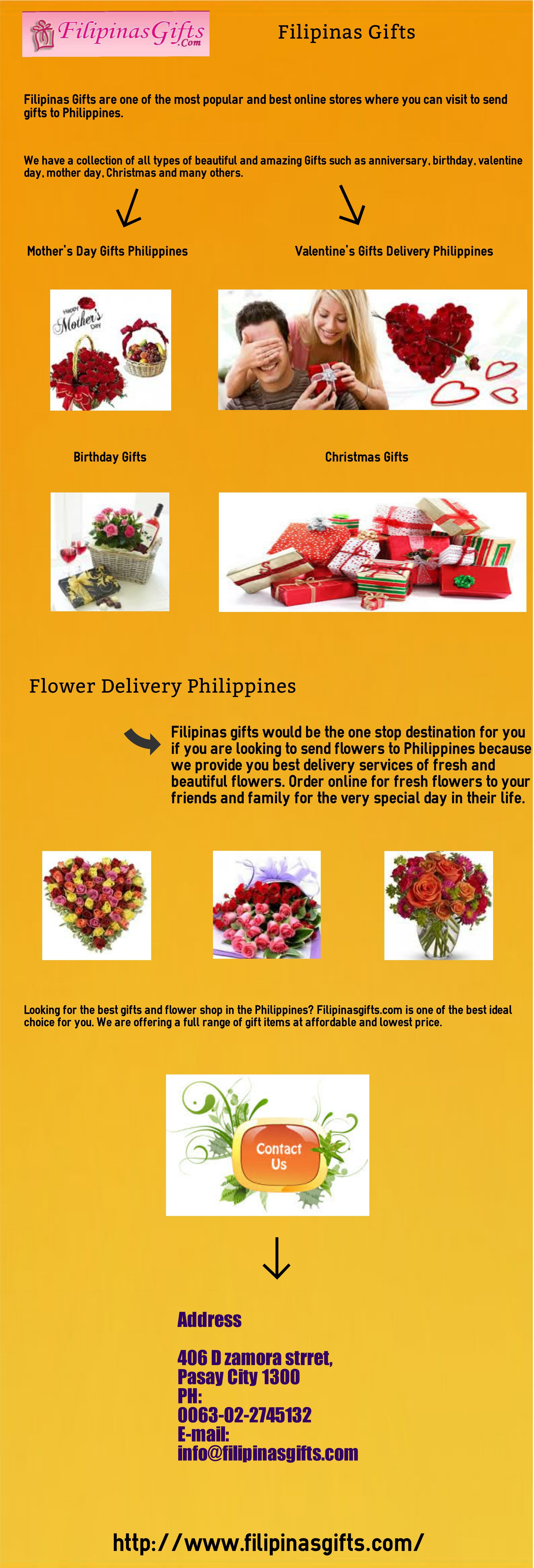 Filipinas gifts send gifts to philippines filipinas