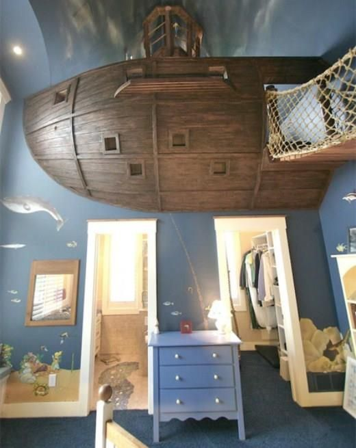 A Pirates bedroom
