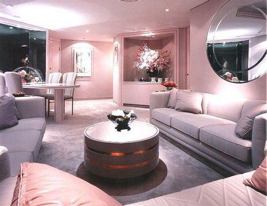 Girl Pastel Pink U0026 Lavender Contemporary Living Room Home Decor