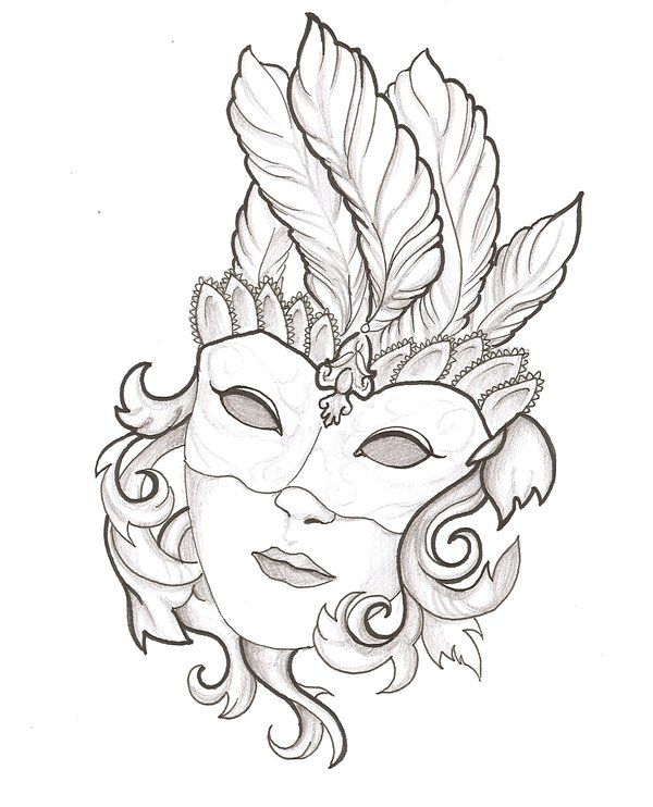 Line Drawing Face Tattoo : Mask by thingthatcandoit viantart on deviantart