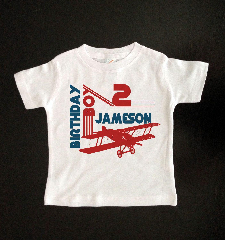 Retro airplane birthday shirt You've had a birthday