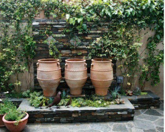 Idées Pour Créer Votre Fontaine De Jardin Moderne. | Construction