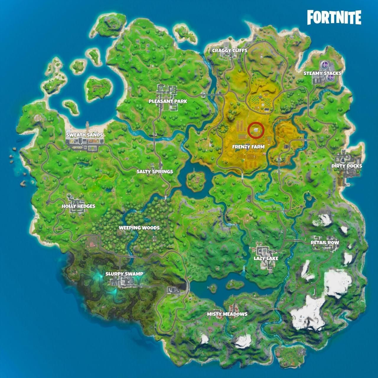Fortnite Hidden I Location Where To Find Letter I In Hide And