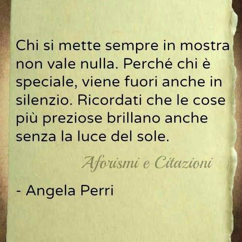 Angela Perri Luce Prezioso Umilta Citazioni Citazioni