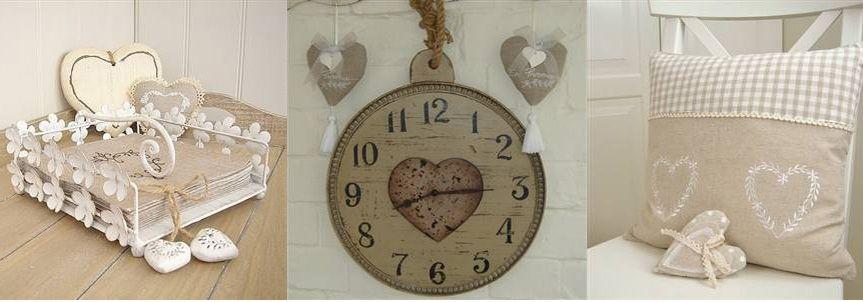 oggetti e piccoli dettagli per personalizzare la propria casa con ... - Arredamento Country Chic Online