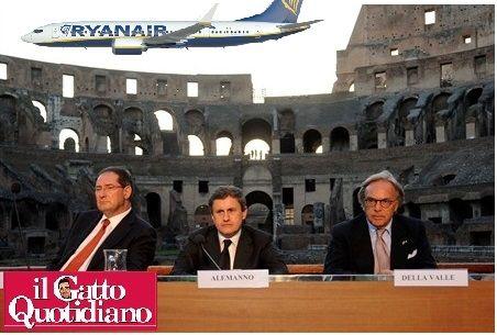 Corte dei Conti/Colosseo: se la gara l'avesse vinta la Ryanair?