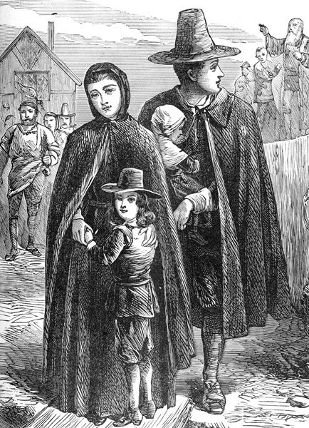 History of the Puritans in North America