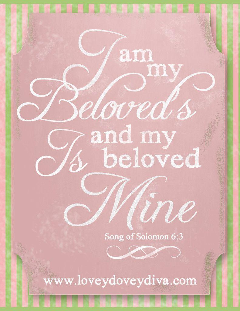 I am my Beloved\'s. | Lovey Dovey Diva | Pinterest | Wedding ...
