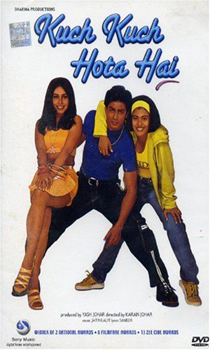 In my family, we watched more Bollywood films than Hollywood ones. I've watched this particular one probably 50 times. In the movie, a boy and a girl are best friends, he marries someone else, then they meet years later and fall in love. It's cheesy, but past the romantic aspect, something about their timeless friendship makes me come back to it time after time.