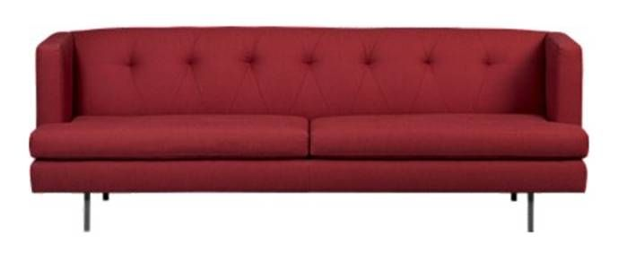 Red Retro Couch With Images