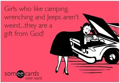 girls that like camping