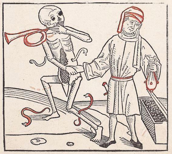 Heidelberger Totentanz Heidelberg: Heinrich Knoblochtzer, nicht nach 1488 GW M47257  Folio 11r