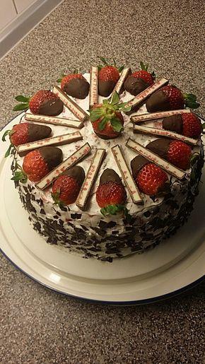 Yogurette Torte Backen Cake Torte Und Kuchen