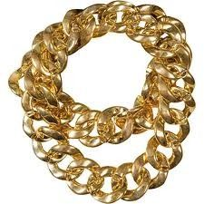 Private Island Party - 10 reasons to wear this awesome 80s chain- Get your  old school bling for your Hip Hop Rapper Halloween costume. a31144bf55b