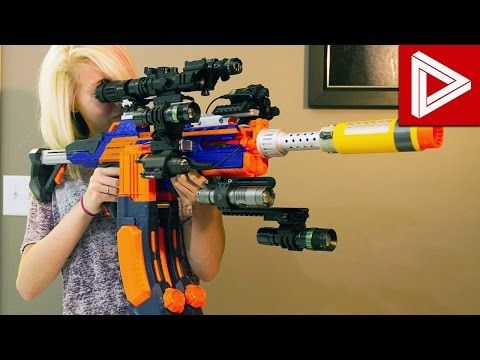 top 10 best nerf guns of 2016 youtube future needs pinterest guns. Black Bedroom Furniture Sets. Home Design Ideas