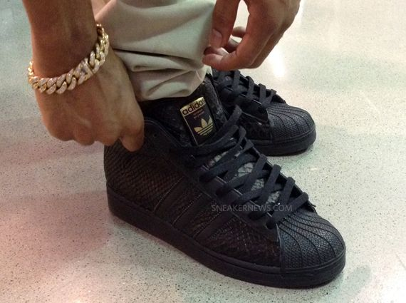 Big Sean x adidas Pro Model Black