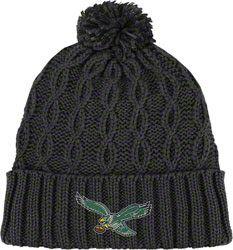 Philadelphia Eagles Women s Black Retro Cuffed Knit  12.97 http   store .philadelphiaeagles. 1288be071