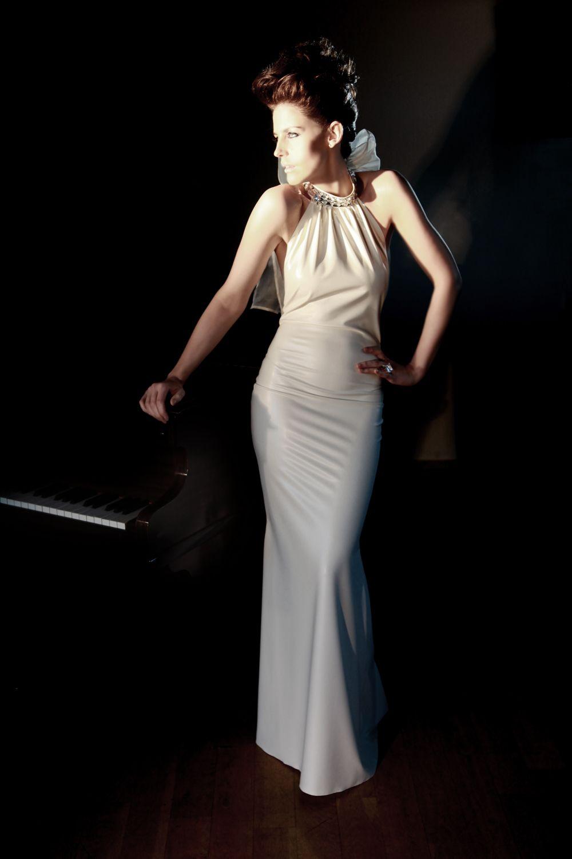 Latex Dresses  Kim west latexweddingdress   Ls latex leather