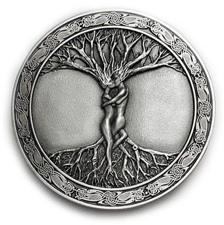 Irish Celtic Knot Tree Of Life Belt Buckle Pictures