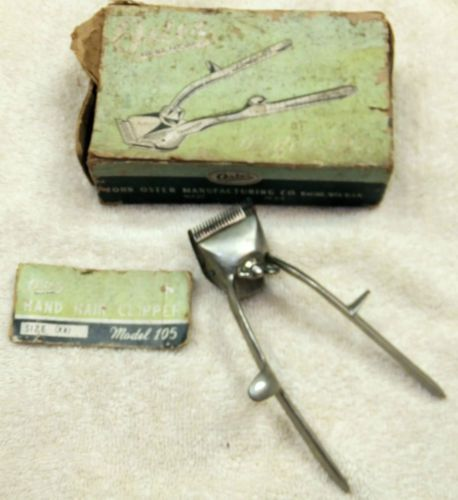 Vintage Oster Clippers
