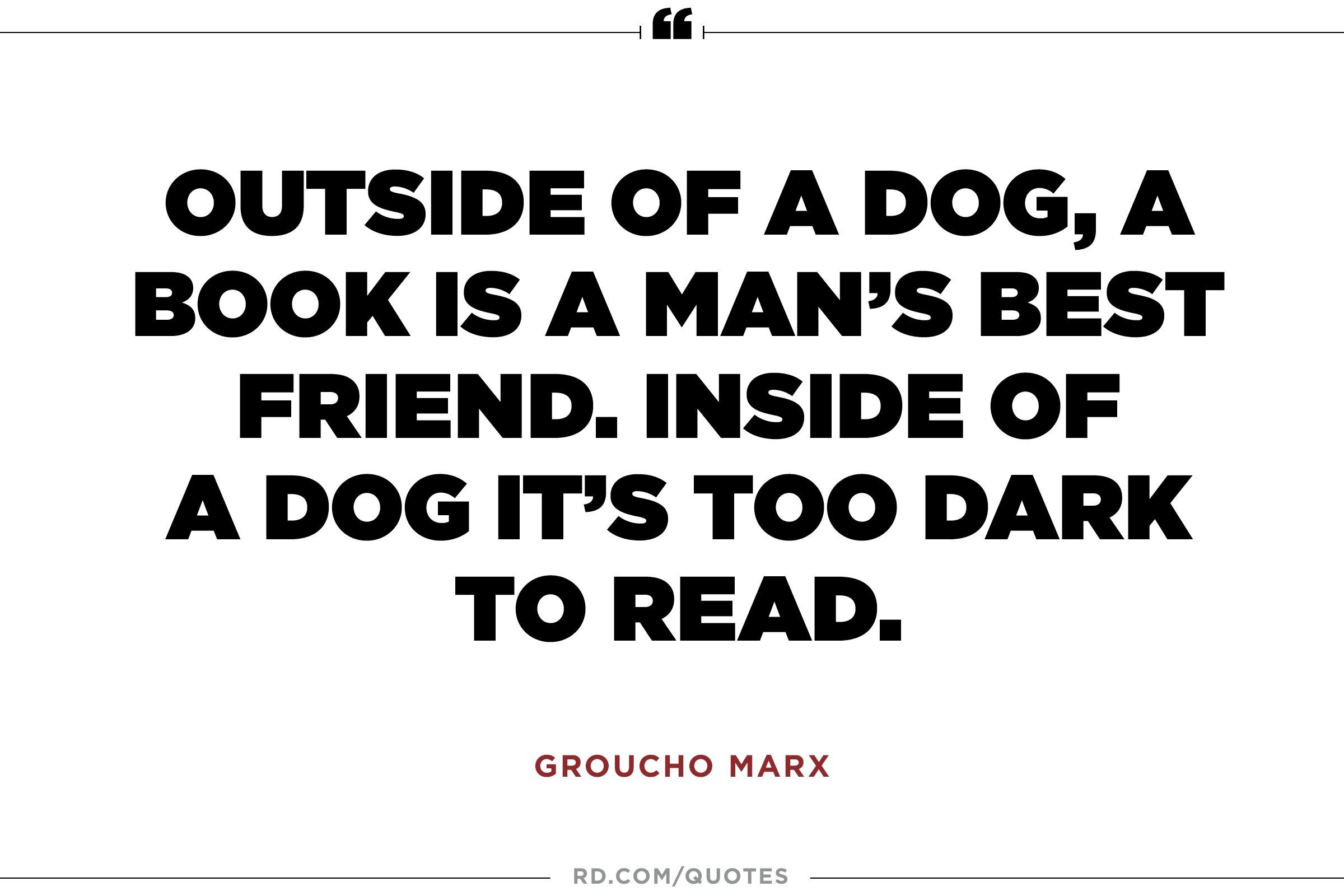 12 Wise and Witty Groucho Marx Sayings That Basically Say