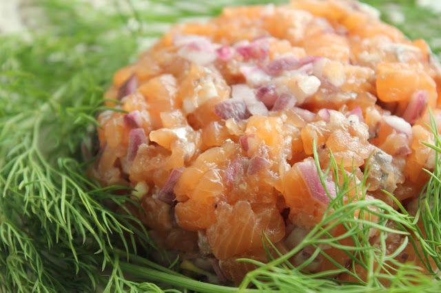 Lachstatar , The Orange Taste
